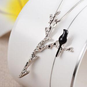 Jewelry - Peace & Solitude Black Bird Necklace